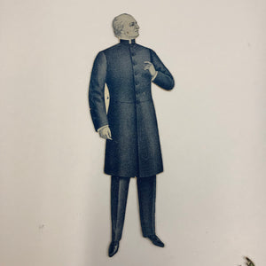 Victorian man paper doll