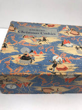 Load image into Gallery viewer, Closer look at cheerful Christmas cookie box