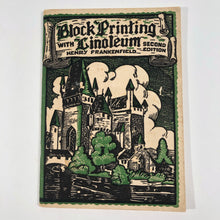 Load image into Gallery viewer, Block Printing with Linoleum Second Edition 1934