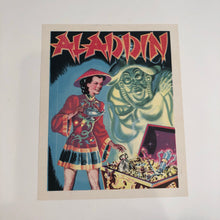 Load image into Gallery viewer, ALADDIN Production SMALL POSTER/ LABEL/ ADVERTISEMENT