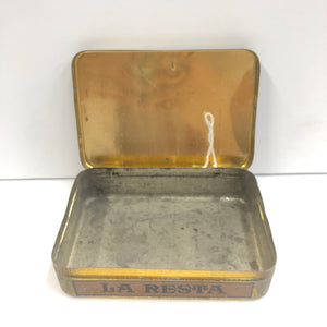 Vintage La Resta Cigar Tin || EMPTY