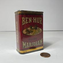 Load image into Gallery viewer, Vintage Ben-Hur Pure Marjoram Can