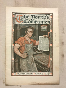 The Youth's Companion November 1905 Large Paperback Book - TheBoxSF