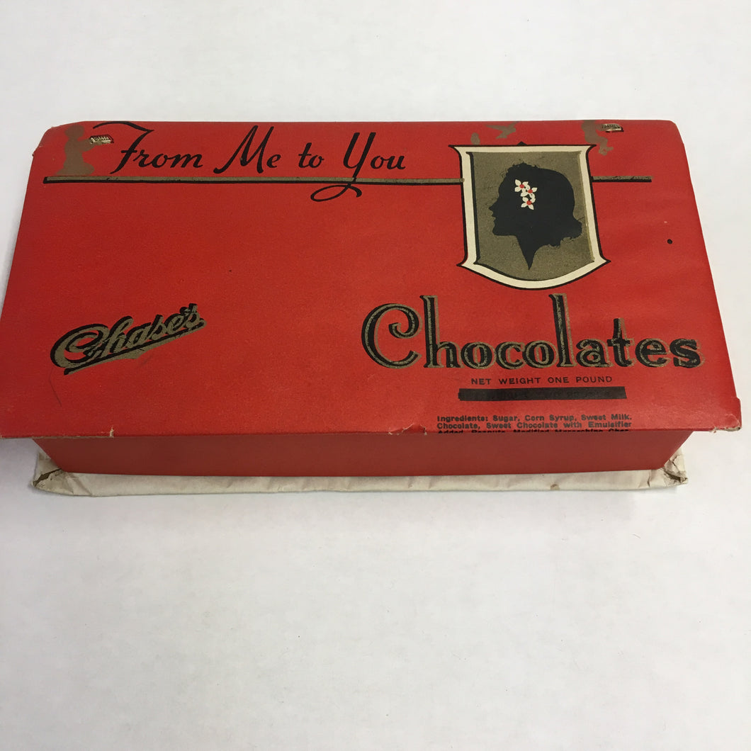 Chase's Candy CHOCOLATE Box,