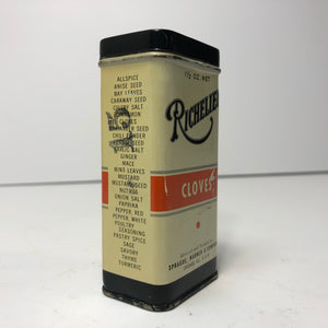 Vintage Richelieu Clove Can