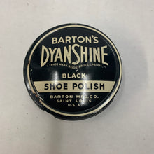 Load image into Gallery viewer, Vintage Dyan Shine Black Shoe Polish