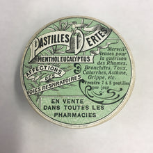 Load image into Gallery viewer, Old Pastilles Dertes MENTHOL EUCALYPTUS Packaging, Pharmacy, Respiratory Diseases
