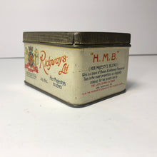 Load image into Gallery viewer, Vintage old Ridgeways Lid Tin Great Colors