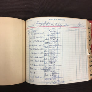 Old, Purina Dealers BOOKKEEPING Monthly Record Book | Accounting - TheBoxSF