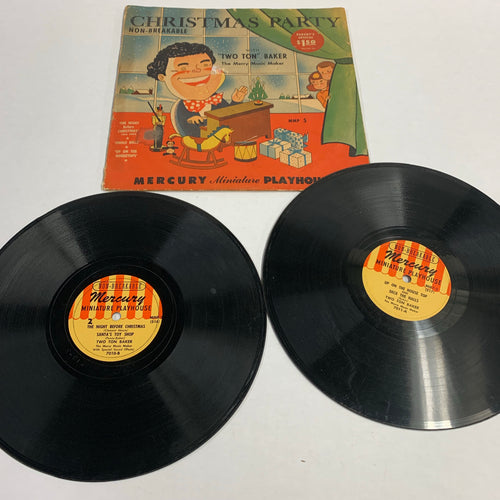 Old CHRISTMAS Party RECORDS, Merry Music, Mercury Playhouse