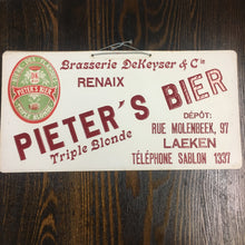 Load image into Gallery viewer, Old Pieters's Bier Triple Blonde SIGN, Beer, Flandres - TheBoxSF