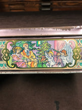 Load image into Gallery viewer, Beautiful Vintage Alphonse Mucha Style French Biscuit Box - TheBoxSF