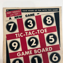 Load image into Gallery viewer, CEREAL GAME BOARD TIC TAC TOE