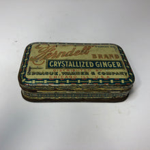 Load image into Gallery viewer, Vintage Ferndel Crystallized Ginger Can