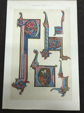 Load image into Gallery viewer, Bookplate featuring illuminated letters