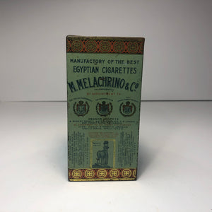 Vintage Egyptian Cigarettes Tin Box || EMPTY