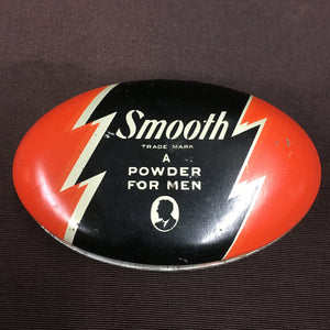 Old Tin, Smooth A POWDER for MEN, Removes Shine, Detroit - TheBoxSF