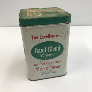 Vintage Hand Blend Cigars Tin || EMPTY