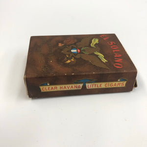 Vintage El Solano Cigar Box || EMPTY