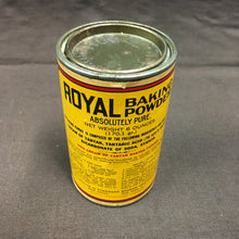 Load image into Gallery viewer, Old Vintage, Royal Baking Powder Full TIN | Cooking | BAKING - TheBoxSF