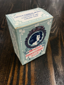 Beautiful Vintage Mirabeau Japanese Crabapple Toilet Soap Packaging - TheBoxSF