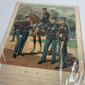 Vintage Non Commissioned Officers ETC - Staff Corps, 1902 XII 1907