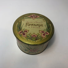 Load image into Gallery viewer, Vintage French FLORAMYE POUDRE DE TOILETTE Cosmetic Powder - Containing Original Product