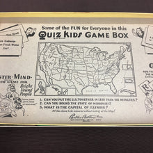 Load image into Gallery viewer, Old Vintage, Quiz Kids Master Mind BOARD GAME - TheBoxSF