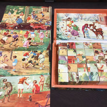 Load image into Gallery viewer, Old Vintage, CUBE PUZZEL, Toys & Games, - TheBoxSF