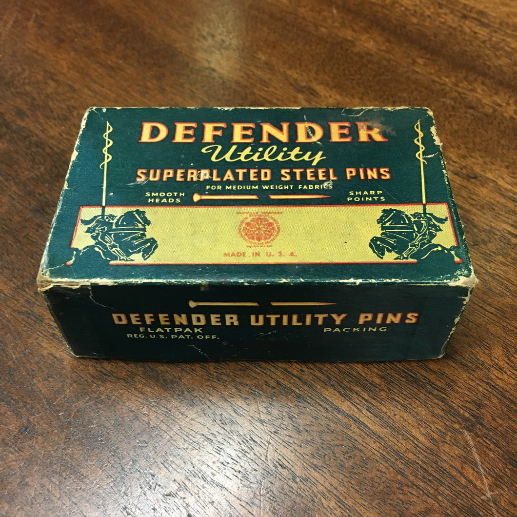Defender Utility Superplated STEEL PINS, Fabrics, America - TheBoxSF