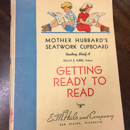 Mother Hubbard's Seatwork Cupboard Book | Getting ready to READ | CHILDREN