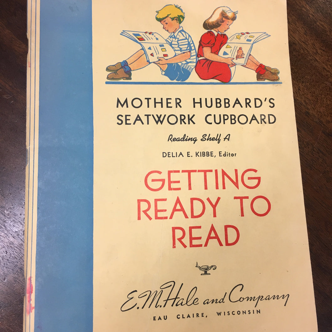 Mother Hubbard's Seatwork Cupboard Book | Getting ready to READ | CHILDREN - TheBoxSF