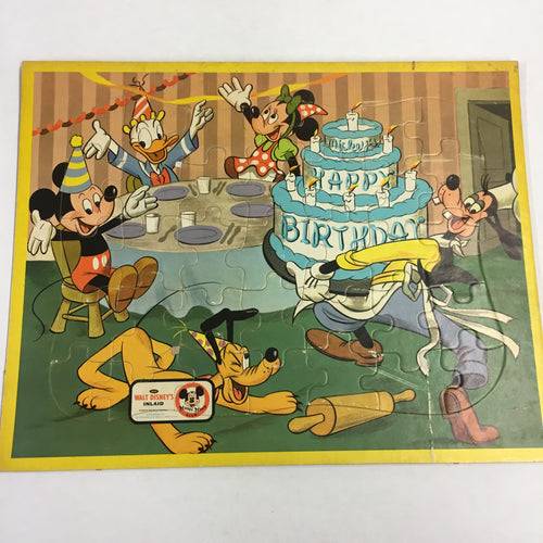 Old Walt DISNEY Puzzle, MICKEY MOUSE Clubhouse, No3