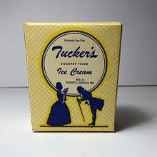 Load image into Gallery viewer, Vintage Tucker's Ice Cream Container Box