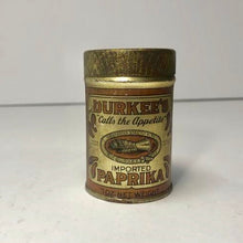 Load image into Gallery viewer, Durkee's Imported Paprika Tin Can