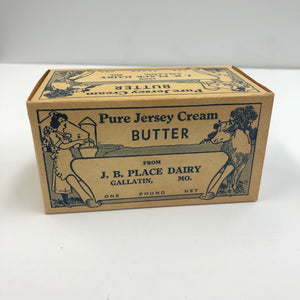 Vintage Pure Jersey Butter Packaging Box