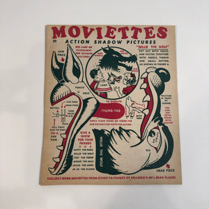 Moviettes Action Shadow Puppets - The Wolf