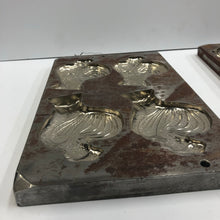 Load image into Gallery viewer, Vintage Metal Chocolate Mold, Chicken Form