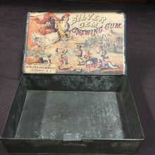 Load image into Gallery viewer, Old Vintage, Silver Gem CHEWING GUM Tin, Sibley & Holmwood - TheBoxSF