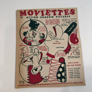 Kellogg's cereal advertising toy Moviettes - Clown