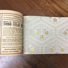 Load image into Gallery viewer, Old WALLPAPER Catalog, Decorating, Patterns, Montgomery Ward - TheBoxSF
