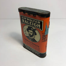Load image into Gallery viewer, Vintage Sir Walter Raleigh Tin