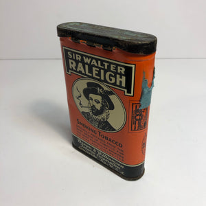 Vintage Sir Walter Raleigh Tin