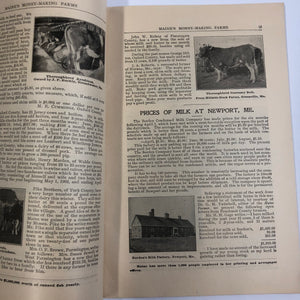 Vintage Maine's Money-Making Farms Catalogue
