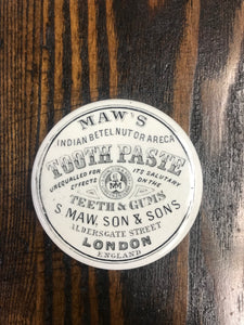 S. Maw's Son & Son's Beautiful Antique Tooth Paste Croc from London, England - TheBoxSF