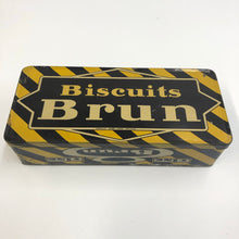 Load image into Gallery viewer, Vintage Biscuits Brun Tin