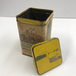 Vintage Plaza Tobacco Tin