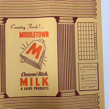 Load image into Gallery viewer, Old TOOTSIE ROLL Packaging, America's Favorite Candy, Middletown Milk