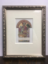 Load image into Gallery viewer, Old MUCHA Lithograph, Ex Libris, Arch. Dr Jaroslav Polivka, Archivelry Framed - TheBoxSF