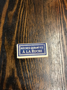 Vintage French Fabric Cardboard Packaging - TheBoxSF
